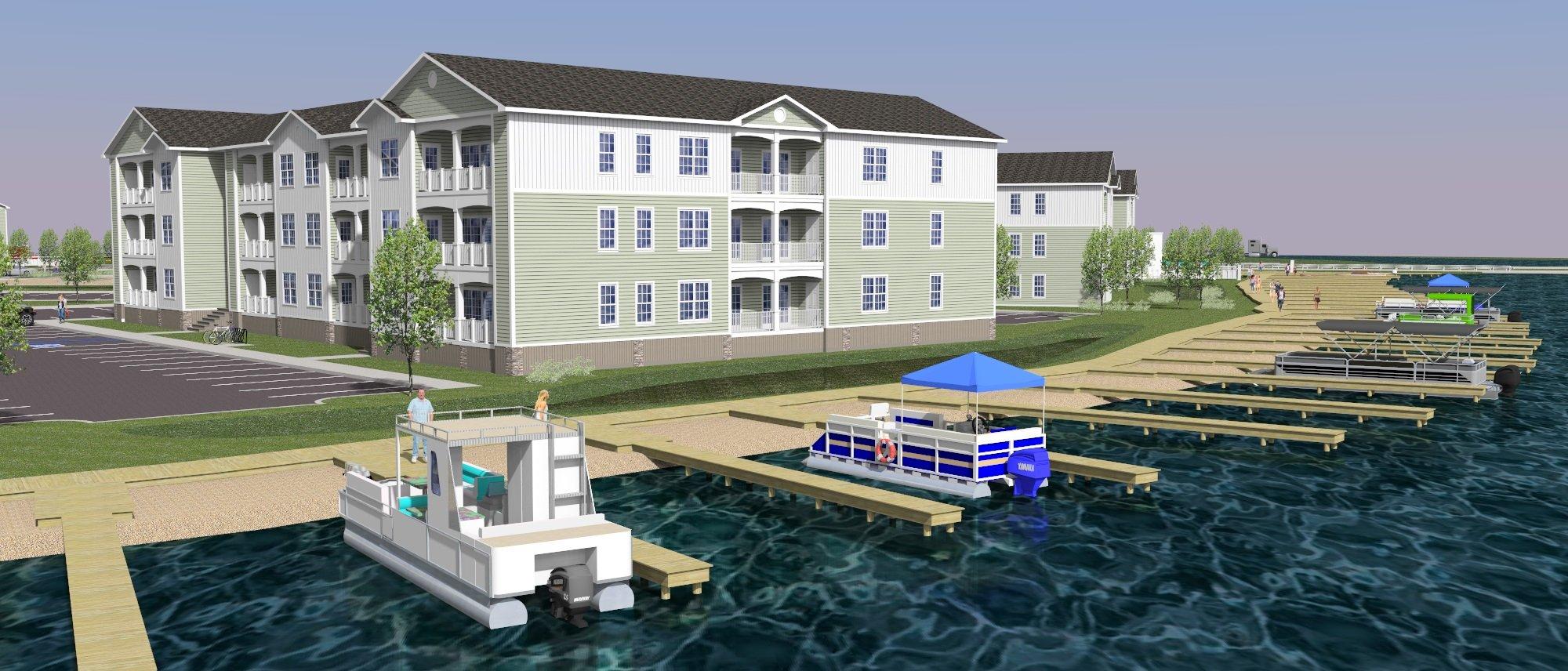 Rehoboth Residences Marina - Rendering
